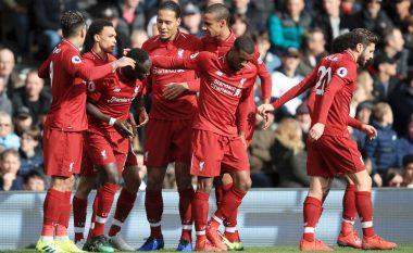 Liverpooli mposht Fulhamin dhe ngjitet sërish në vend të parë