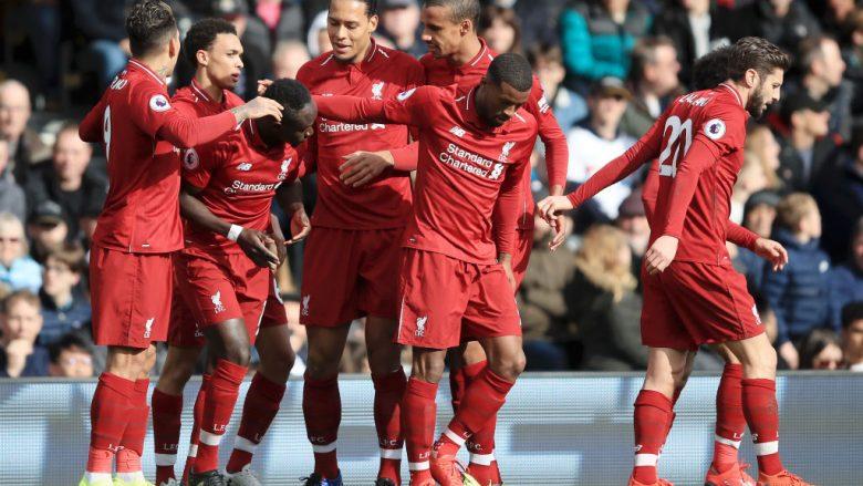 Festa e lojtarëve të Liverpoolit (Foto: Marc Atkins/Getty Images/Guliver)