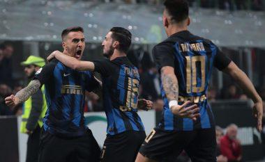 Spektakël dhe gola, Interi fiton derbin ndaj Milanit dhe e zhvendos në tabelë