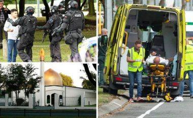 Publikohen pamje të sulmeve në dy xhami në Zelandën e Re ku deri më tani 40 persona humbën jetën (Video+18)