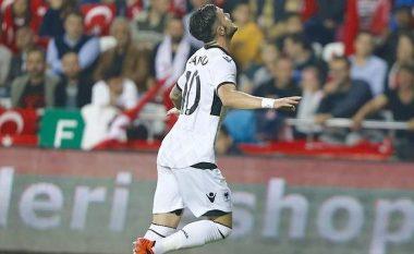 Shqipëria kalon në epërsi ndaj Andorrës me golin e Armando Sadikut