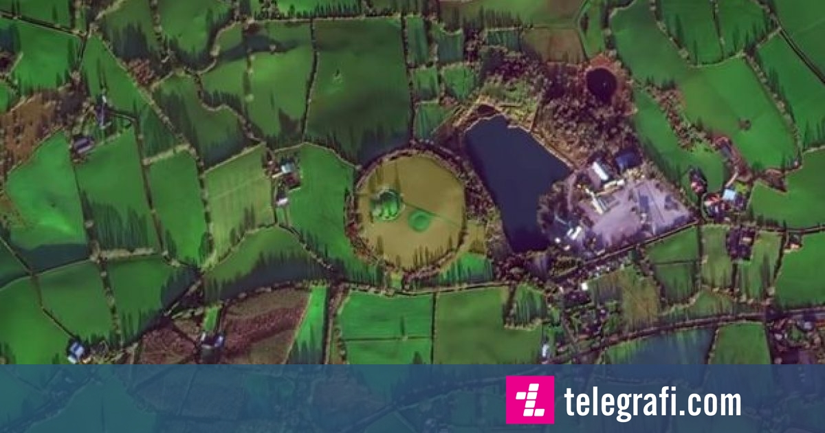 Objekti misterioz në formë rrethore i parë nga sateliti, i ka befasuar ekspertët e arkeologjisë (Video)
