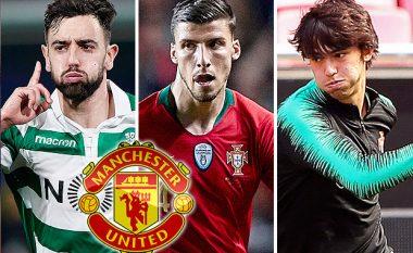 Manchester United gati sulmin e çmendur për treshen portugeze - 290 milionë euro për Joao Felix, Ruben Dias dhe Bruno Fernandes