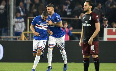 Pas Interit, Milani mposhtet edhe nga Sampdoria