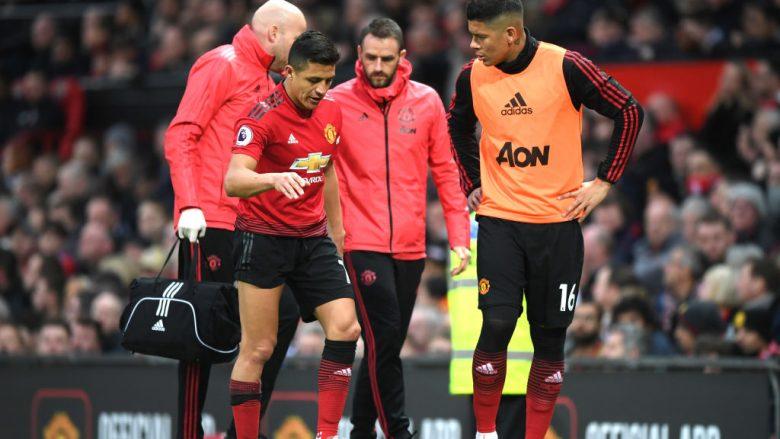 Sanchez dhe Rojo (Foto: Shaun Botterill/Getty Images/Guliver)