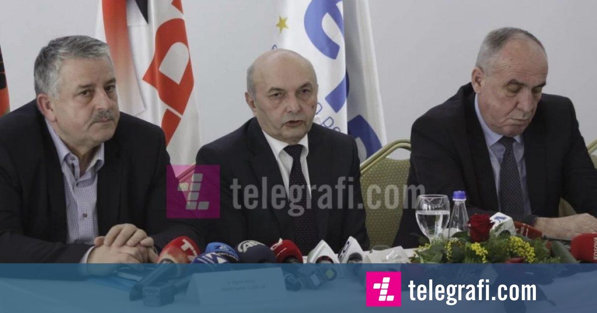 Mustafa fajëson Thaçin dhe Haradinajn për gjendjen në vend, thotë se LDK nuk do të hyjë në qeveri për të shpëtuar koalicionin