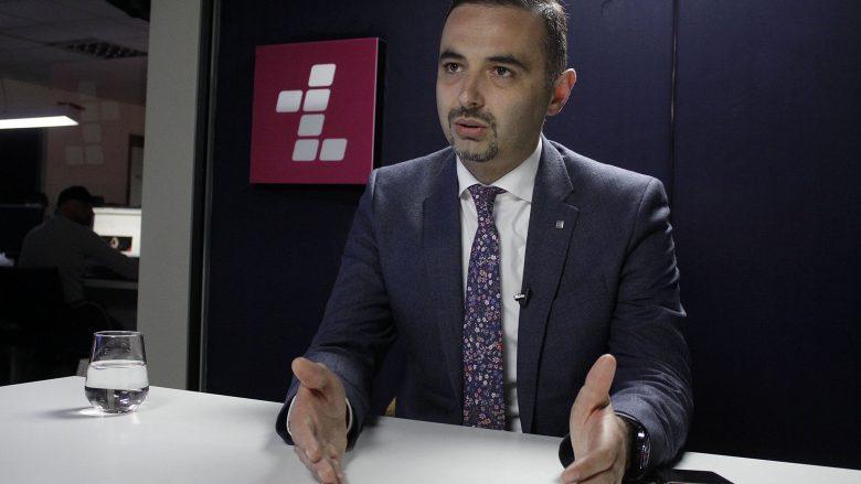 Ministri i MZHE-së, Valdrin Lluka | Foto: Rindvan Slivova/Telegrafi