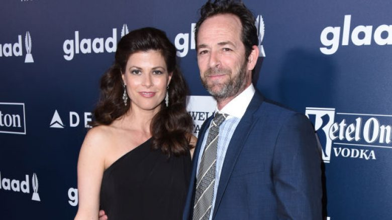 Wendy Madison Bauer dhe Luke Perry (Foto: Getty Images/Guliver)
