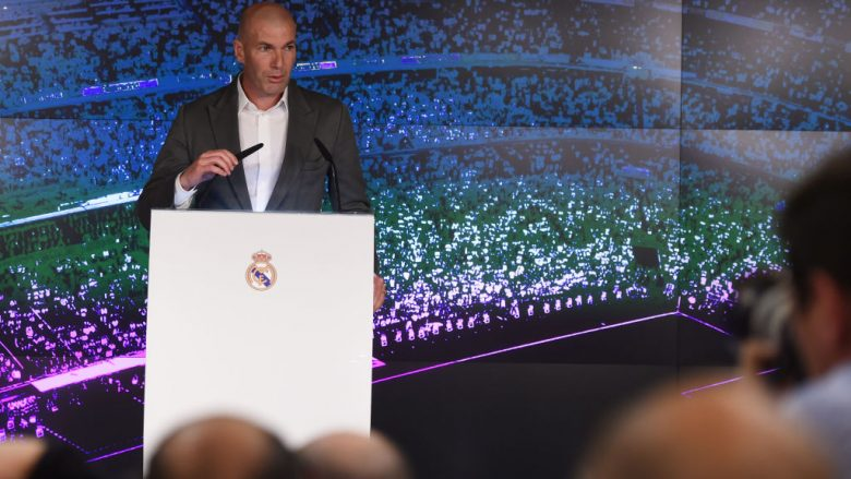 Zinedine Zidane (Foto: Denis Doyle/Getty Images/Guliver)