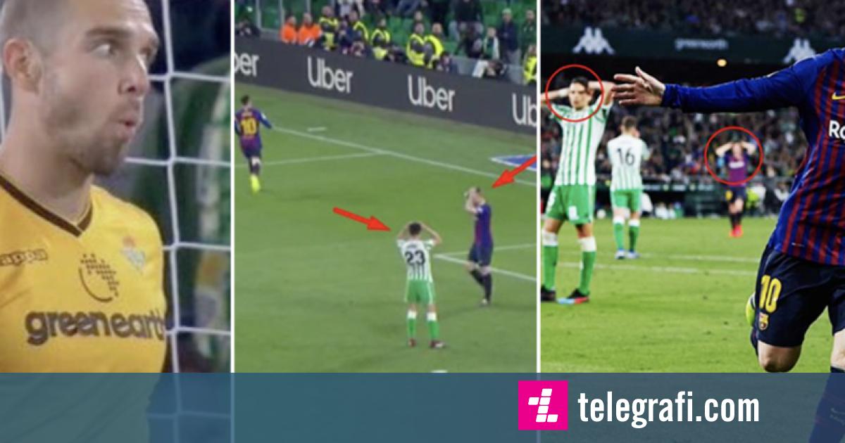 Reagimi i portierit të Real Betis, Pau Lopez, tregon për madhështinë e golit të tretë të Lionel Messit – jo vetëm ai, por edhe lojtarët e tjerë mbetën gojëhapur