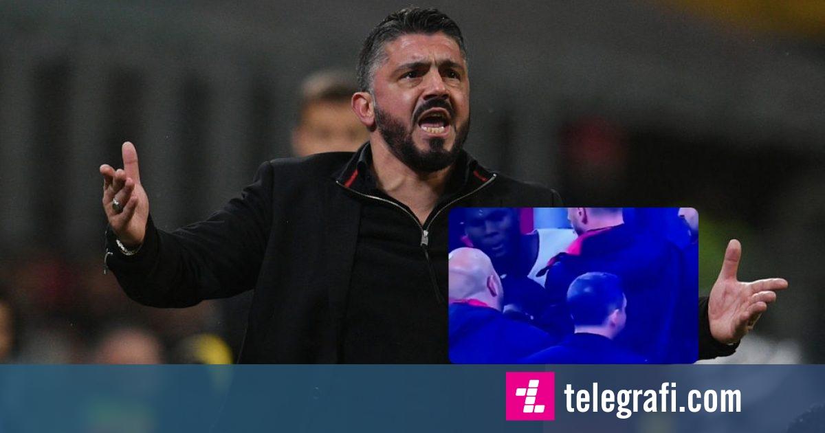 Gattuso: Më shumë se humbja më dhemb zënka e Franck Kessiet dhe Lucas Biglias në bankë
