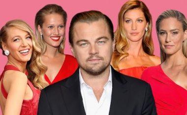 Tetë të dashurat e Leonardo DiCaprios: Asnjëra nuk kishte mbi 25 vjet