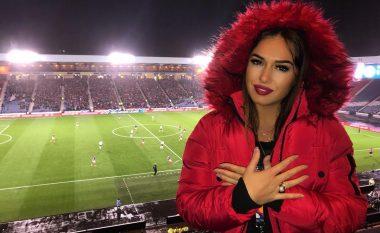 """Ilda Bejleri për herë të parë në stadiumin """"Fadil Vokrri"""": Kam prejardhje nga Gjakova"""
