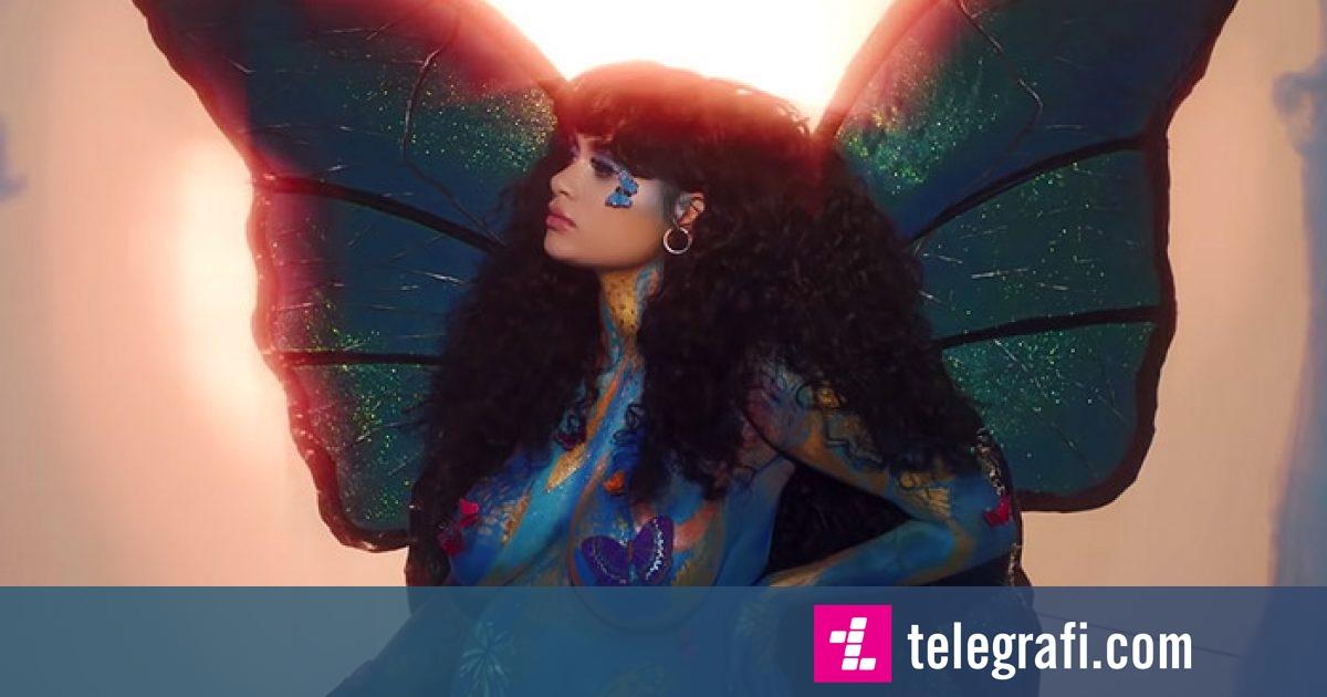 "Kehlani publikon videoklipin ""Butterfly"""