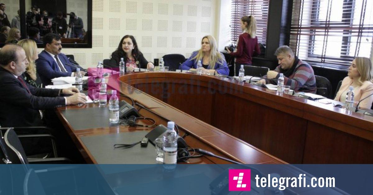 Në Komisionin për Punë të Jashtme votohet Platforma e Dialogut