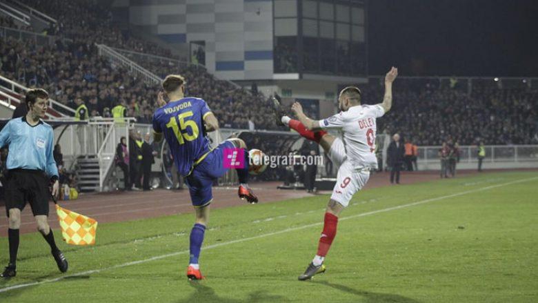 Prapaskenat e ndeshjes Kosovë – Bullgari: Nga repriza në ekranet e stadiumit, tek tollovia e minutës 14-të, dritat e celularëve e ngatërrimi me ndërrimet