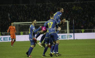 Notat e lojtarëve, Kosova 1-1: Zeneli yll, ndihmohet nga Muriqi e Rrahmani