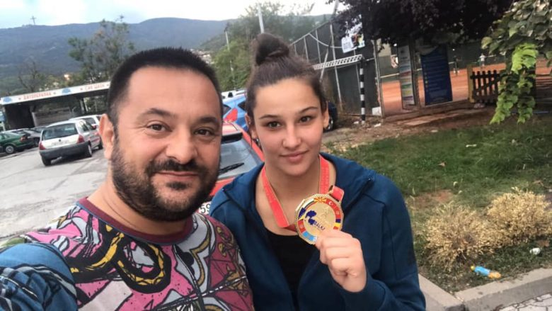 Trajneri i shumë sukseseve, Driton Kuka dhe xhudistja Loriana Kuka (Foto: Facebook/Driton Toni Kuka)