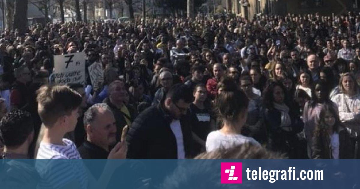Në Basel u mbajt marsh solidarizues për shtatëvjeçarin e vrarë (Video)