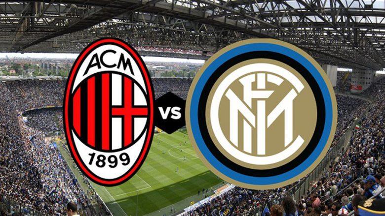 Formacionet zyrtare: Milani dhe Interi zhvillojnë 'Derby della Madonnina'