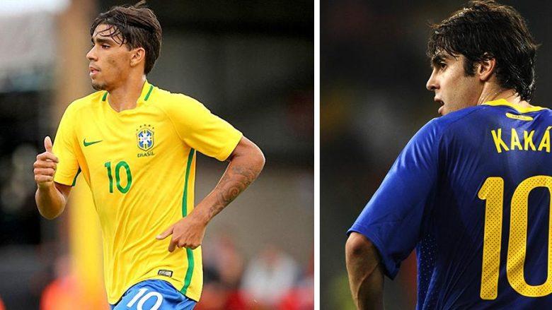 Kaka: Paqueta mund të shkruajë historinë si numri 10 i Brazilit