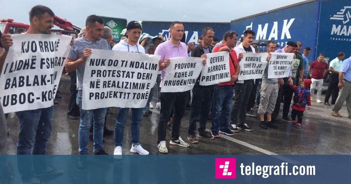 Sot protestojnë banorët e katër fshatrave të Ferizajt