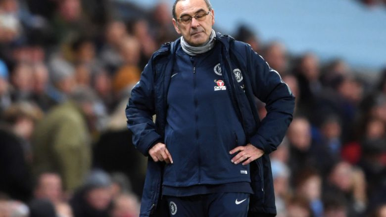Maurizio Sarri (Foto by Laurence Griffiths/Getty Images/Guliver)