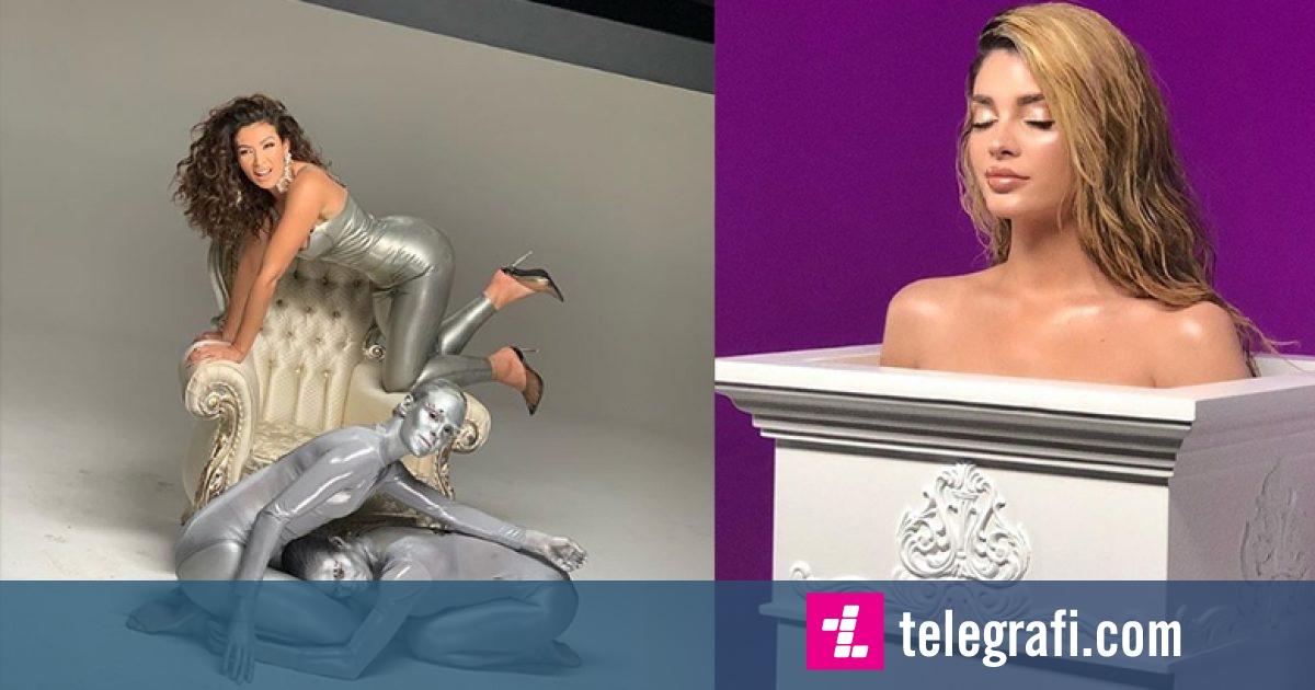 Nora dhe Era si statuja në videon e re muzikore