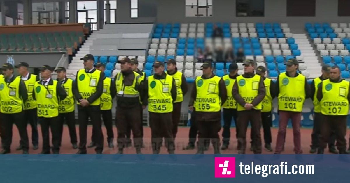 Stërvitje të veçanta për sigurinë në stadium para ndeshjes Shqipëri-Turqi