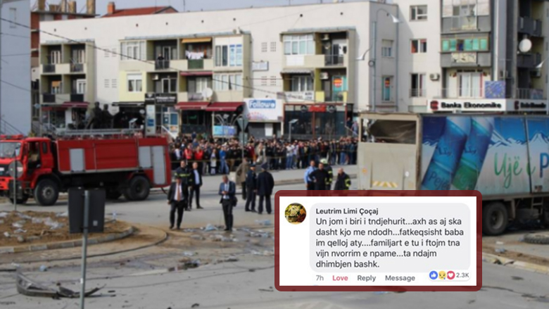 Djali i të ndjerit në aksidentin në Gjilan, fton familjen e shoferit të kamionit në varrim: Ta ndajmë dhimbjen bashkë