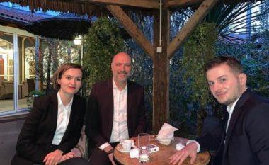 Ymeri takon në Tiranë dy ministrat nga Kosova