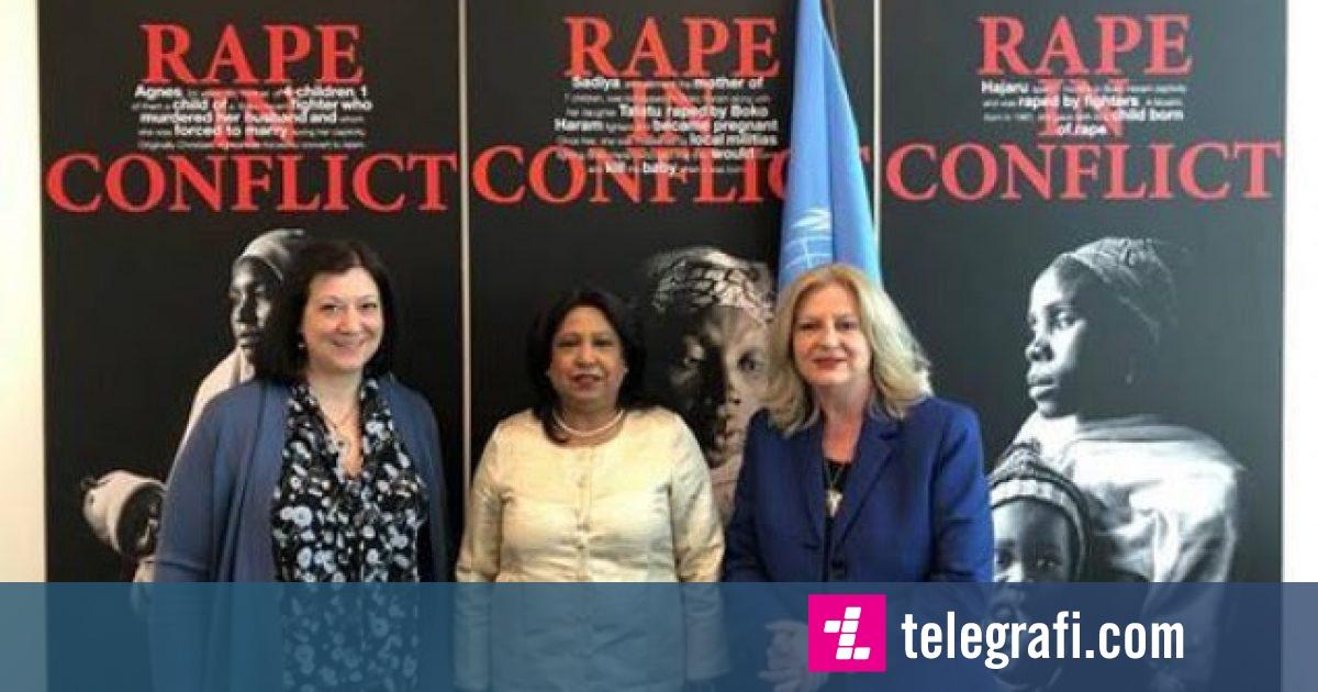 Tahiri dorëzon në OKB peticionin që kërkon drejtësi për gratë e dhunuara gjatë luftës në Kosovë