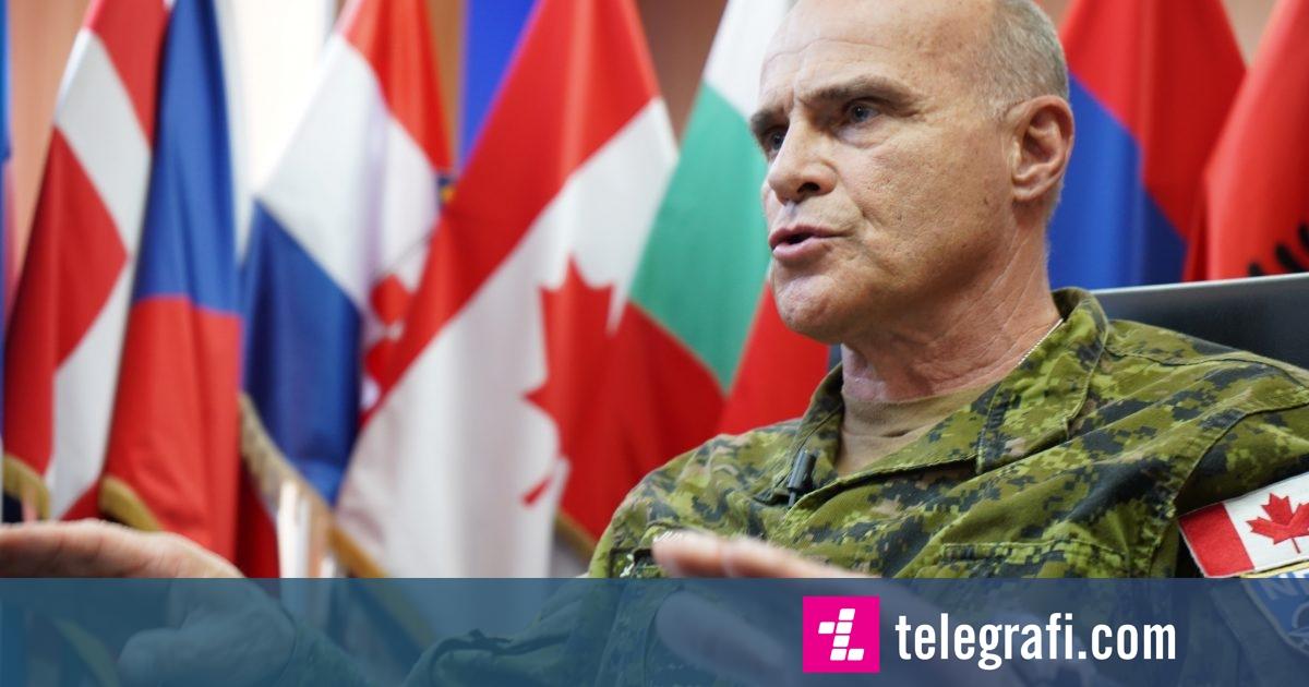 Gjenerali i NATO-s: Ushtria e Kosovës nuk po ndodh në mënyrën dhe kohën që ne dëshirojmë