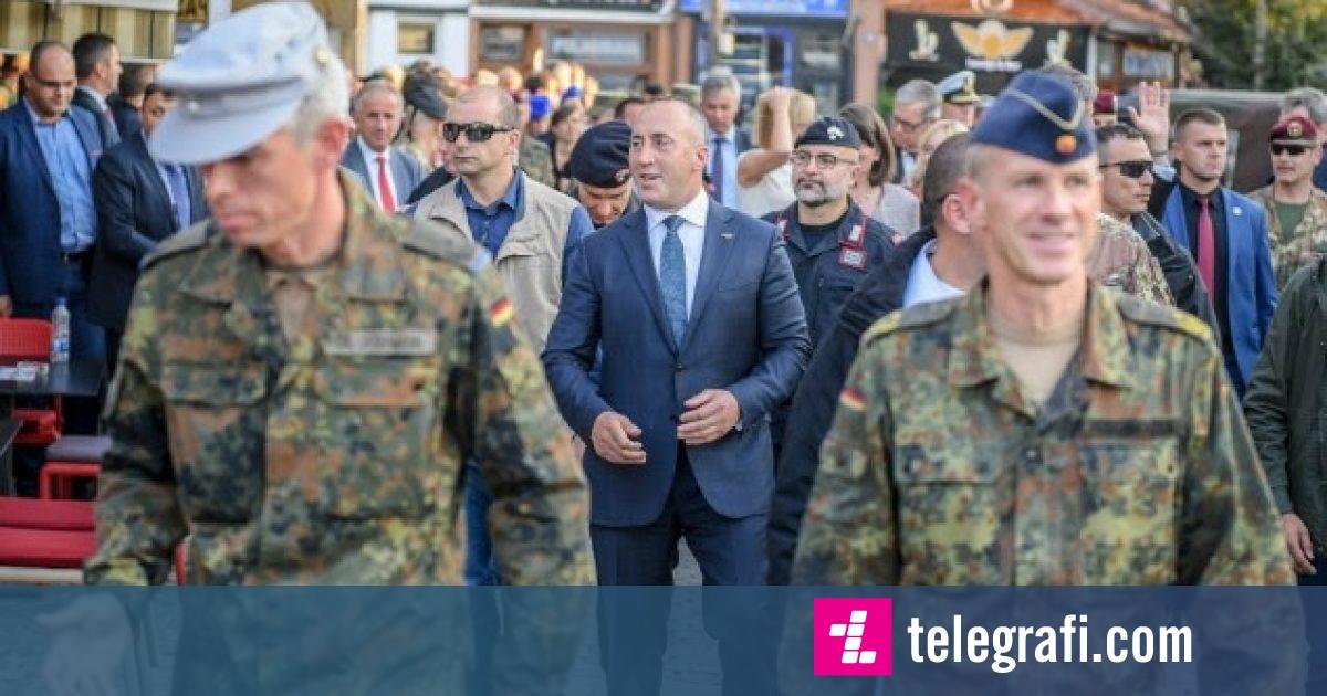 Haradinaj nderon ushtarët e rënë të KFOR-it