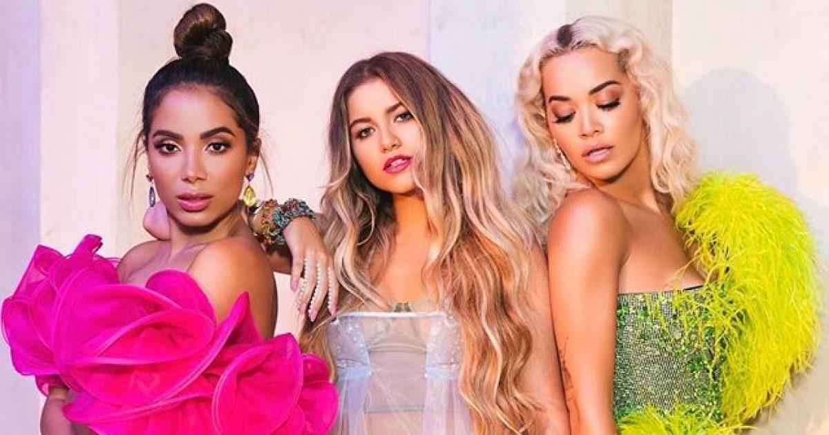 Bashkëpunim surprizë! Rita Ora sjell këngën e re me artistet Anitta dhe Sofia Reyes