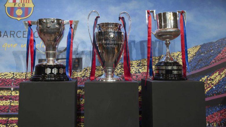 Barcelona, gjashtë ndeshje për ta siguruar tripletën