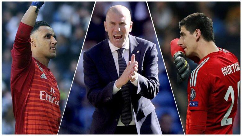 Zidane e zgjedh portierin e parë të Real Madridit – Navas qëndron, Courtois largohet
