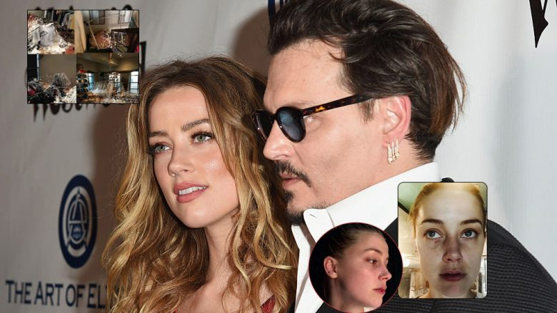 Amber Heard dhe Johnny Depp (Foto: Getty Images/Guliver/Fairfax County Court)