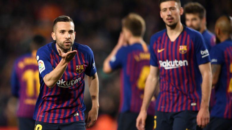 Jordi Alba shënoi golin e fitores (Foto: David Ramos/Getty Images/Guliver)