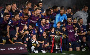 Festa e Barcelonës pas titullit të 26-të në La Liga