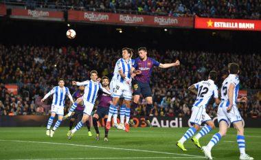 Notat e lojtarëve: Barcelona 2-1 Real Sociedad, shkëlqen Lenglet