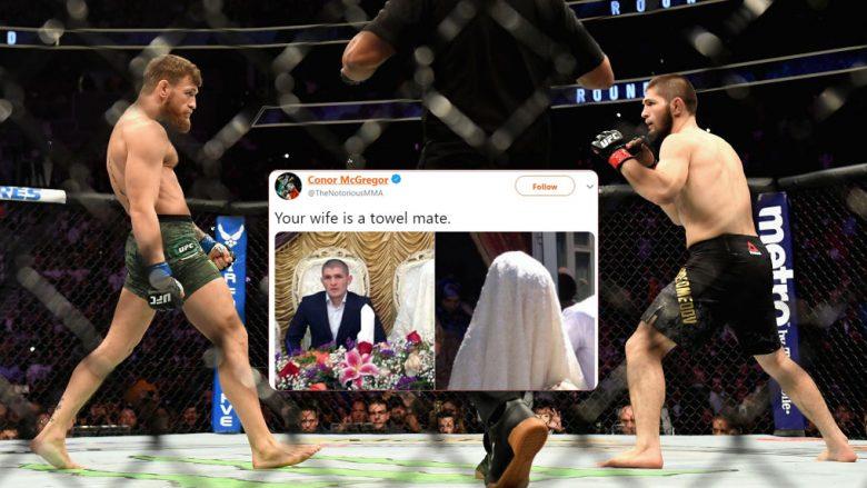 Conor McGregor dhe Khabib Nurmagomedov (Foto: Getty Images/Guliver/Twitter)