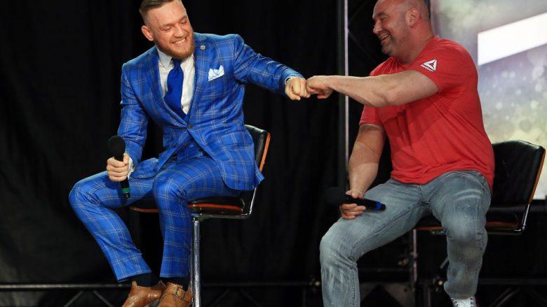 Conor McGregor dhe Dana White (Foto: Getty Images/Guliver)