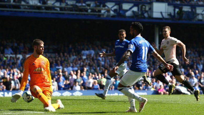 David de Gea në ndeshjen ndaj Evertonit (Foto: Jan Kruger/Getty Images/Guliver)