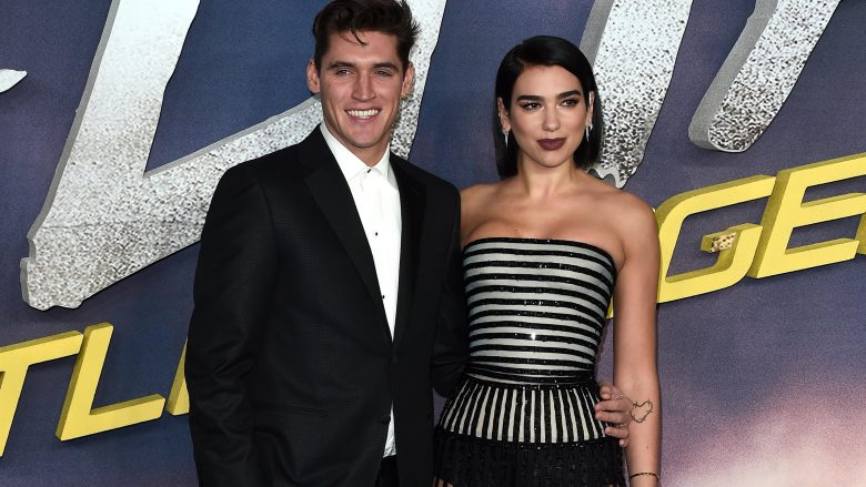 Isaac Carew dhe Dua Lipa (Foto: Eamonn M. McCormack/Getty Images/Guliver)