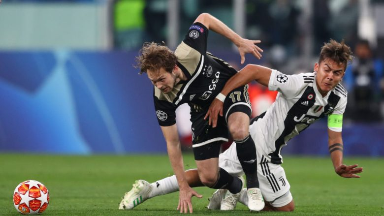 Daley Blind dhe Paulo Dybala (Foto: Michael Steele/Getty Images/Guliver)