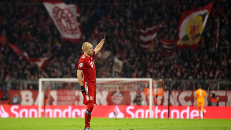 Arjen Robben.  (Foto: Adam Pretty/Getty Images/Guliver)