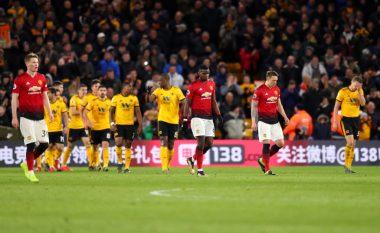 United dorëzohet ndaj Wolves në pjesën e dytë