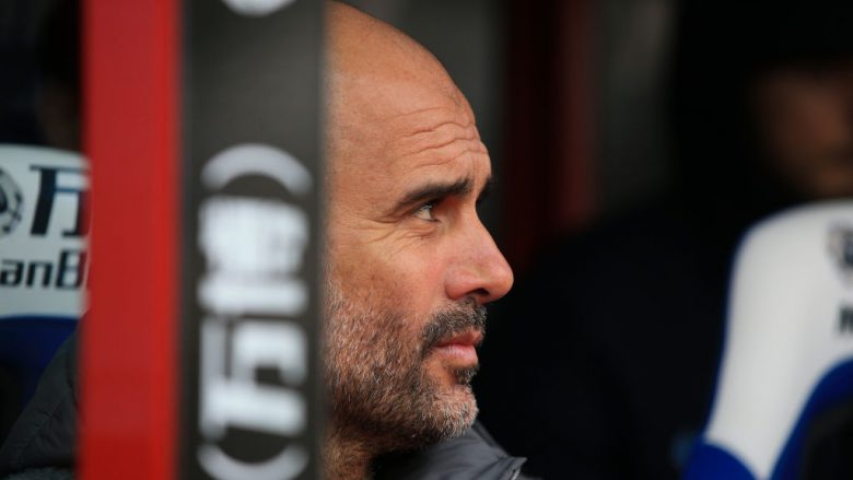 Pep Guardiola. (Photo by Marc Atkins/Getty Images)