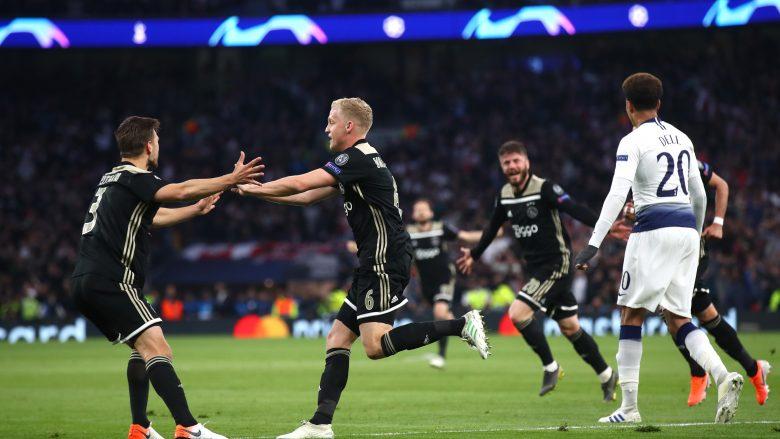 Festa e Ajax . (Photo by Julian Finney/Getty Images)